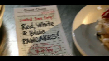 Denny's Red White and Blue Pancakes TV Spot - Thumbnail 10