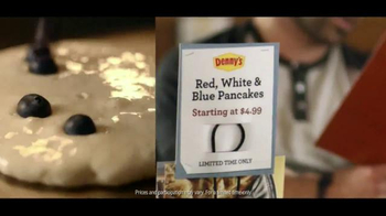 Denny's Red White and Blue Pancakes TV Spot