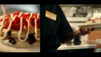 Denny's Red White and Blue Pancakes TV Spot - Thumbnail 7