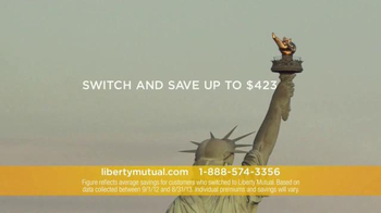 Liberty Mutual TV Spot, 'New Car Replacement and Accident Forgiveness' - Thumbnail 6