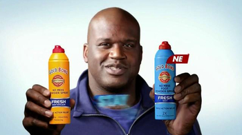 Gold Bond Powder Spray TV Spot, 'Nine Cool Feet' Feat. Shaquille O'Neal