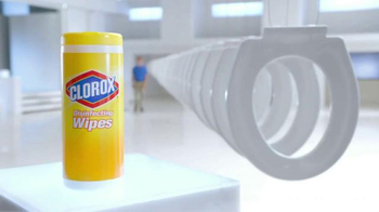 Clorox Disinfecting Wipes TV Spot, 'Disinfect More' - Thumbnail 5