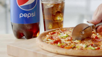 Papa John's TV Spot, 'Pizza Without Pepsi' - 1962 commercial airings