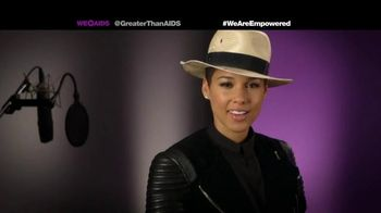 Greater Than Aids TV Spot, Featuring Alicia Keys