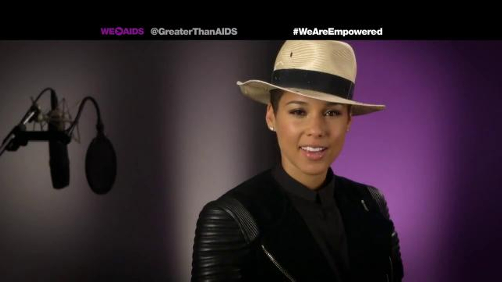 Greater Than Aids TV Commercial, Featuring Alicia Keys