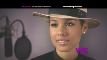 Greater Than Aids TV Spot, Featuring Alicia Keys - Thumbnail 10