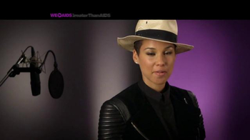 Greater Than Aids TV Spot, Featuring Alicia Keys - Thumbnail 2