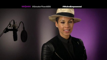 Greater Than Aids TV Spot, Featuring Alicia Keys - Thumbnail 3