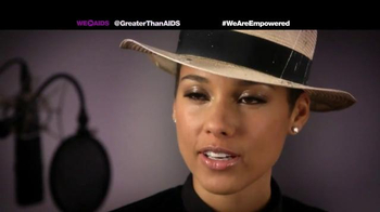 Greater Than Aids TV Spot, Featuring Alicia Keys - Thumbnail 5