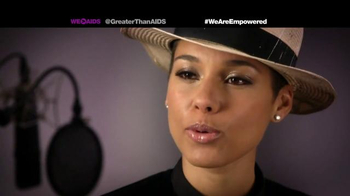 Greater Than Aids TV Spot, Featuring Alicia Keys - Thumbnail 6