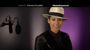 Greater Than Aids TV Spot, Featuring Alicia Keys - 20 commercial airings