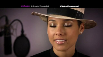 Greater Than Aids TV Spot, Featuring Alicia Keys - Thumbnail 8