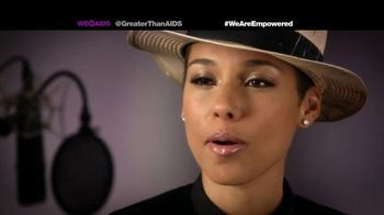Greater Than Aids TV Spot, Featuring Alicia Keys - Thumbnail 9