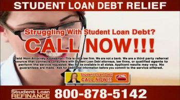 Student Loan Debt Relief TV Spot, 'Special Free Offer' - Thumbnail 9