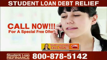 Student Loan Debt Relief TV Spot, 'Special Free Offer' - Thumbnail 4