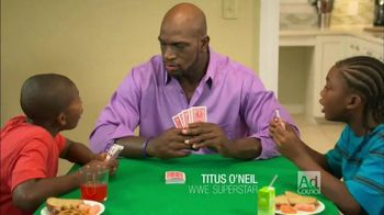 National Responsible Fatherhood Clearinghouse TV Spot, 'Guys' Night Out' Featuring Titus O'Neil