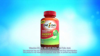 One A Day Adult VitaCraves Gummies with Energy Support TV Spot, 'Tightrope' - Thumbnail 4