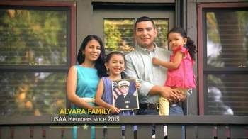 USAA Military Auto Insurance TV Spot, 'Thank You, Dad' - Thumbnail 6