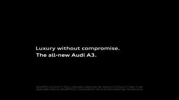 2015 Audi A3 TV Spot, 'Hugs Corners. Cuts None' - Thumbnail 8