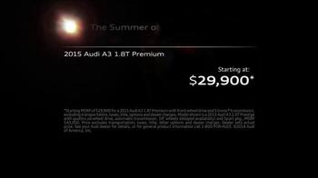 2015 Audi A3 TV Spot, 'Hugs Corners. Cuts None' - Thumbnail 9