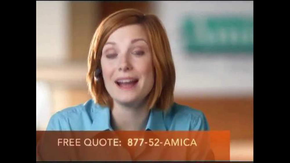 Usaa Car Insurance Quote >> Amica Mutual Insurance Company TV Commercial, 'Standards ...