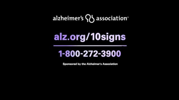 Alzheimer's Association TV Spot, 'Keys Know The 10 Signs' - Thumbnail 7