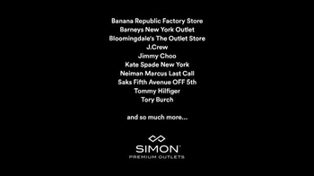 Simon Premium Outlets TV Spot - Thumbnail 8
