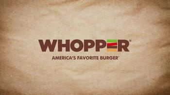 Burger King BBQ Bacon Whopper TV Spot, 'Rewind' - Thumbnail 1