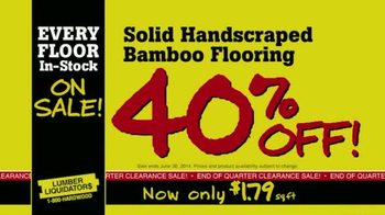 Lumber Liquidators TV Spot, 'Every Floor' - Thumbnail 5