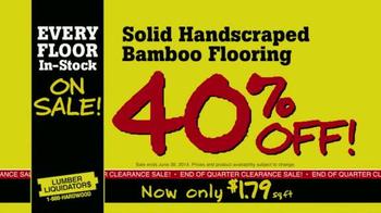 Lumber Liquidators TV Spot, 'Every Floor' - Thumbnail 6