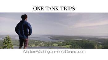 Honda One Tank Trips Sweepstakes TV Spot, 'Western Washington: 2014 Civic' - Thumbnail 2