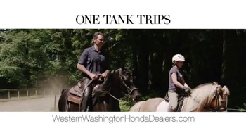 Honda One Tank Trips Sweepstakes TV Spot, 'Western Washington: 2014 Civic' - Thumbnail 5