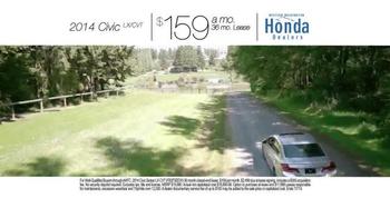 Honda One Tank Trips Sweepstakes TV Spot, 'Western Washington: 2014 Civic' - Thumbnail 7