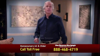 One Reverse Mortgage TV Spot, 'Low Rate' Featuring Henry Winkler - Thumbnail 1