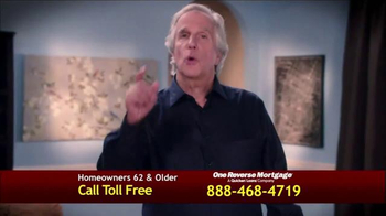 One Reverse Mortgage TV Spot, 'Low Rate' Featuring Henry Winkler - Thumbnail 2