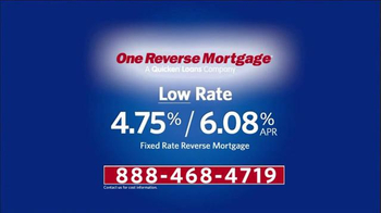 One Reverse Mortgage TV Spot, 'Low Rate' Featuring Henry Winkler - Thumbnail 5