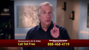 One Reverse Mortgage TV Spot, 'Low Rate' Featuring Henry Winkler