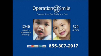 Operation Smile TV Spot, 'Una Sonrisa Nueva' [Spanish]