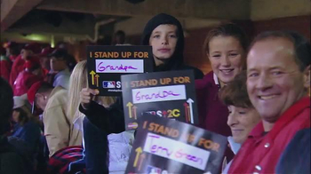 Fox Supports TV Spot, 'Stand up to Cancer' - 11 commercial airings