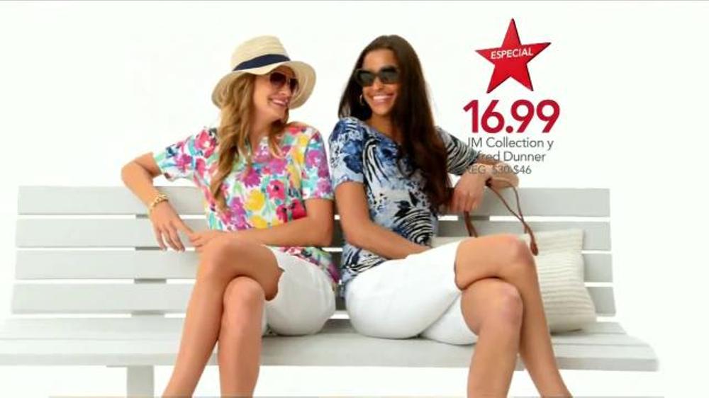 Macy S La Venta De S 250 Per S 225 Bado Tv Commercial Ofertas