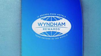 Wyndham Worldwide TV Spot, 'Wyndham Hotels & Resorts' - Thumbnail 1