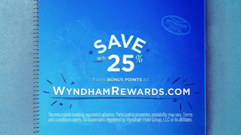 Wyndham Worldwide TV Spot, 'Wyndham Hotels & Resorts' - Thumbnail 6
