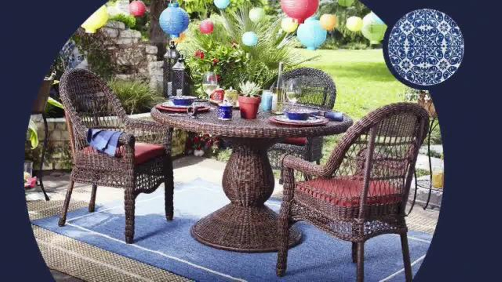 Pier 1 Imports July 4th Outdoor Sale TV Spot