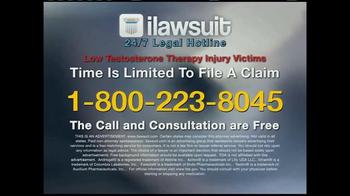 iLawsuit Legal Hotline TV Spot, 'Testosterone' - Thumbnail 9