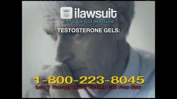 iLawsuit Legal Hotline TV Spot, 'Testosterone' - Thumbnail 1