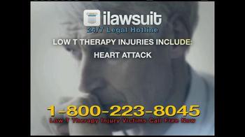 iLawsuit Legal Hotline TV Spot, 'Testosterone'