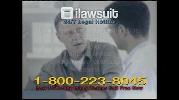 iLawsuit Legal Hotline TV Spot, 'Testosterone' - Thumbnail 3