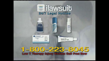 iLawsuit Legal Hotline TV Spot, 'Testosterone' - Thumbnail 4