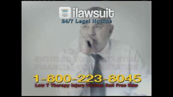 iLawsuit Legal Hotline TV Spot, 'Testosterone' - Thumbnail 5