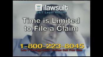 iLawsuit Legal Hotline TV Spot, 'Testosterone' - Thumbnail 6